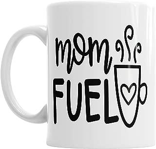 Moson Mom Fuel Coffee Caffeine Mother's Day Mummy Mom Mother Mum Ceramic Mug