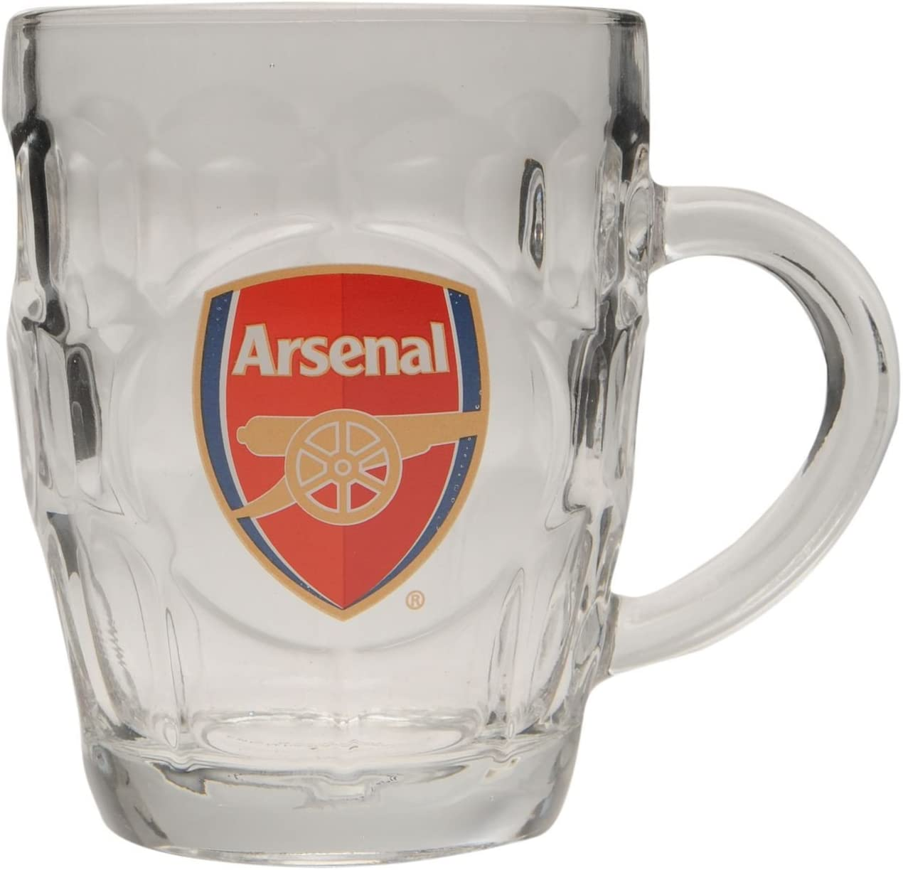 Team Verre /à bi/ère Fans de Football Club Crest Souvenirs Accessoire Neuf