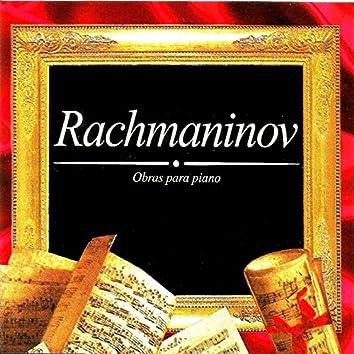 Rachmaninov, Obras para piano