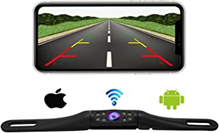 $79 » Wireless License Plate Backup Camera,Ultra Strong Signal High Frame Rate Clear Picture Infrared Night Vision Suitable for ...