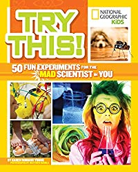 National Geographic Kids Science Experiment Book {Giveaway}