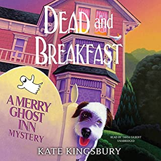 Dead and Breakfast     A Merry Ghost Inn Mystery              By:                                                                                                                                 Kate Kingsbury                               Narrated by:                                                                                                                                 Tavia Gilbert                      Length: 7 hrs and 29 mins     414 ratings     Overall 4.1