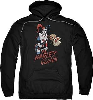 Hoodie: Harley Quinn- Hammer Time Pullover Hoodie Size XL