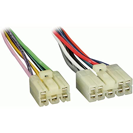 amazon.com: metra 70-1398 wiring harness for select 1982-1992 toyota/daihatsu  vehicles: car electronics  amazon