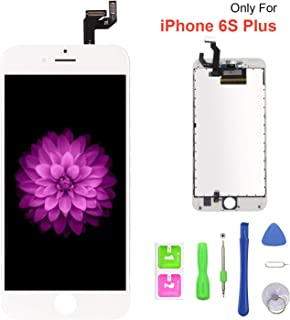 FFtopu Compatible with iPhone 6s Plus Screen Replacement White, FFtopu LCD Display 3D Touch Screen Digitizer Replacement F...