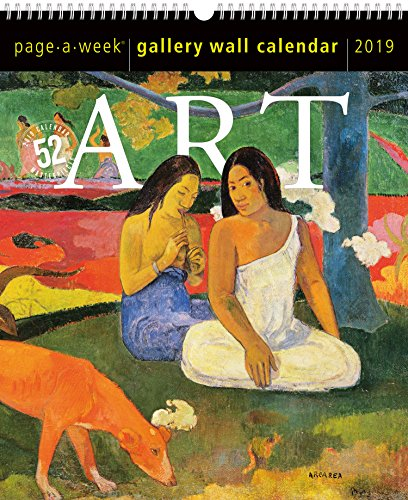 Art Page-A-Week Gallery Wall Calendar 2019