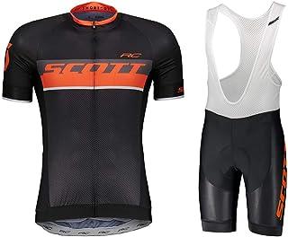 vélo pantalon court noir//blanc 2019 Scott RC équipe