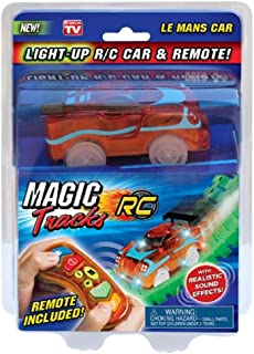 Magic Tracks RC Light Up R/C Car and Remote - Red Le Mans Car