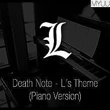 Death Note - L's Theme (Piano Version)