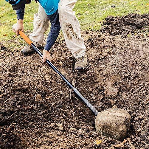 Fiskars 397900-1001 PRO Shovel, Digging, 60 Inch, Silver