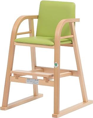 秋田木工 ベビーチェア 幅46×奥行51.5×高さ74.2cm NA 曲木椅子 日本製 NO.42N NA/ソフトGR