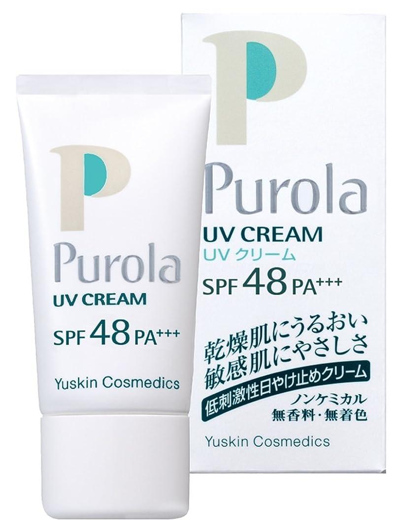 シアー相対的失礼プローラ UVクリーム 30g SPF48 PA+++ (敏感肌用 日焼け止め)