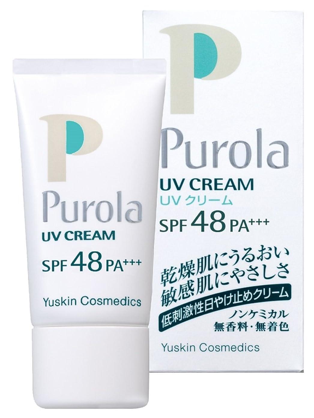 みがきます海洋実証するプローラ UVクリーム 30g SPF48 PA+++ (敏感肌用 日焼け止め)