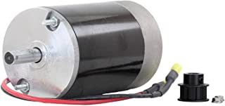 NEW 12 Volt Electric Spinner Motor Replacement For Western Tornado 10T Cogged Pulley 78300