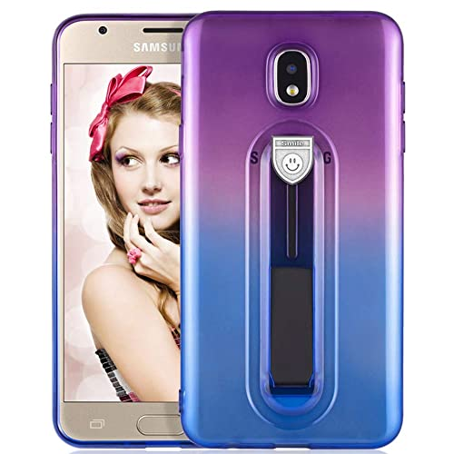 Samsung Galaxy J3 Blue and Purple Cases: Amazon com
