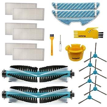 MTKD® Kit para Cecotec Conga Serie 1390 y 1290 Accesorios de ...