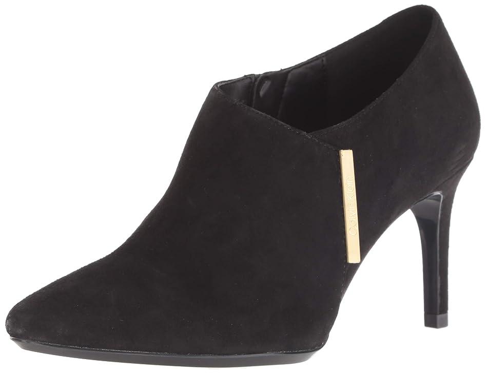 太いタービンテロ[Calvin Klein] レディース E7534 US サイズ: 9.5 M US カラー: ブラック