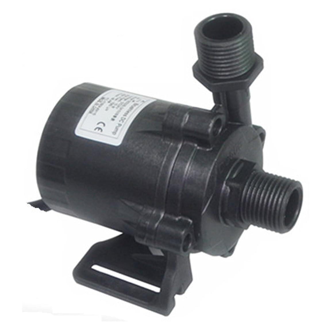 KIMIX DC24V 3.6A 86.4W 揚程15M 1560L/H 小型 水中 ポンプ 低ノズル 水族館給水 排水 池ポンプ 庭池 自動化設備水循環 ハイパワー 潜水インストール