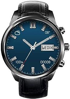 ZMJY Relojes deportivos para mujeres y hombres, pantalla de seguimiento de actividad física, cara grande, militar, impermeable, negro, regalo para niños, impermeable, color negro