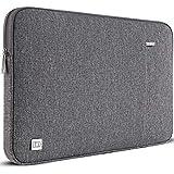 DOMISO 12.5 Zoll Wasserdicht Laptop Tasche Sleeve Case Notebook Hülle Schutzhülle für 13' MacBook Pro Retina/13 MacBook Air Retina 2018/12.9' iPad Pro 2016 2017/13.5' Surface Laptop 2,Grau
