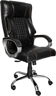 OCTOPHIN™ O19 High Back Home Office Chair/Revolving Chair/Desk Chair/Director Chair (Black) (24 Months Warranty)