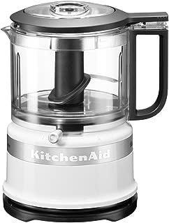 KitchenAid 凯膳怡 5KFC3516S 经典迷你食品处理器 0.83 升 240 瓦 白色 白色 5KFC3516BWH