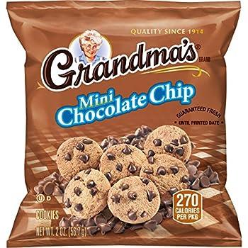 Grandma s Mini Chocolate Chip Cookies 2 Ounce  Pack of 60