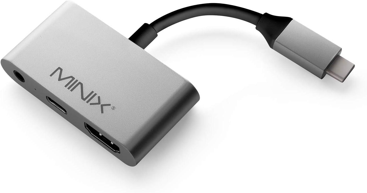 MINIX NEO C-HAGR USB-C to 4K @ 60Hz Columbus Mall Finally resale start Adap 3.5mm Jack Audio HDMI+