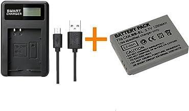 970 is Voiture 12V pour Batterie Canon NB-5L NB5L pour IXUS 900 TI 980 is 990 is etc. Chargeur Secteur 220V 960 is