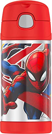 Thermos 12 OZ Bottle, 12 Ounce, Spiderman (F4016SP6)