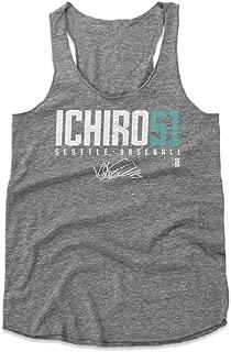500 LEVEL Ichiro Suzuki Women's Tank Top - Seattle Baseball Women's Apparel - Ichiro Suzuki Ichiro51