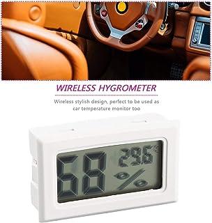 Mini termómetro LCD digital profesional higrómetro medidor de temperatura de humedad Sensor de pantalla LCD digital para i...