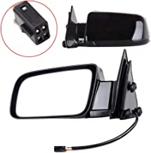 SCITOO Automotive Exterior Mirror Replace Mirror Parts with Electrical Operated Compatible for fit 1988-1998 Chevrolet GMC Pickup Truck 1992-1994 Chevrolet Blazer GMC Jimmy, Comes with Pair Mirrors