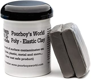 Poorboy's World Poly-Elastic Detailing Clay (2-100gm Bars)