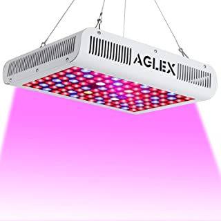 AGLEX 1000W LED Grow Light Full Spectrum - Reflector Grow Lamp with Double Switch, Super Bright Intensity Light for Veg and Flower