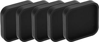 Kleine lensbescherming Siliconen lensdop Lensbeschermer voor Gopro Hero 9 5 stuks, bescherm de lens, camera