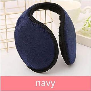 Solid Ear Muff Navy Blue