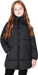 Maoo Garden Girls Winter Long Puffer Lightweight Coat Thick Padded Soft Fleece Jacket with Hood