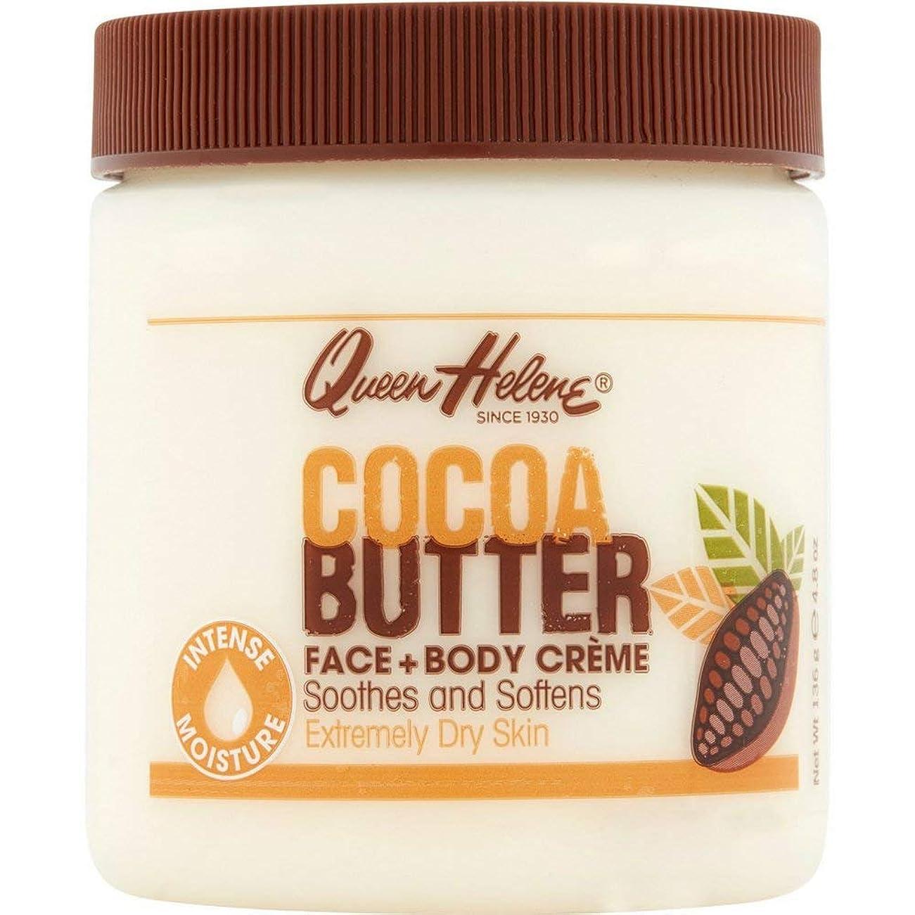 騒々しい地雷原鎮痛剤Queen Helene, Cocoa Butter Creme, 4.8 oz (136 g)