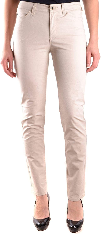 Armani Jeans Women's MCBI31200 Beige Cotton Jeans