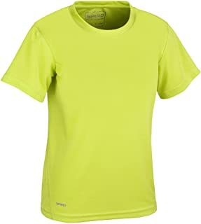 Spiro Quick Dry Short Sleeve Camiseta, Bebé-Niños