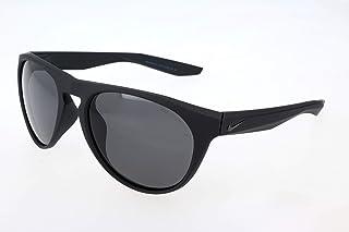70a5b2592 Óculos NIKE Essential Jaunt Ev1008 001 Preto Fosco Lente Cinza Flash Tam 56