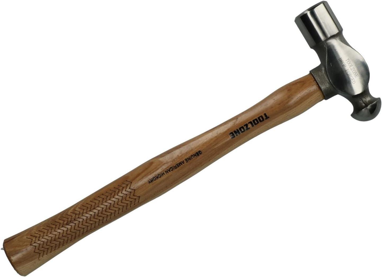 32oz American Hickory Ball Pein Omaha Mall Max 70% OFF Pin Fo Wooden Hammer Handle Drop