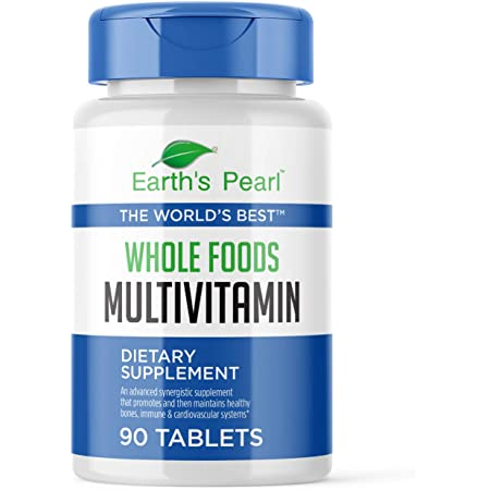 Amazon.com: Vegan Whole Foods Multivitamin with Probiotics and Digestive  Enzymes for Women, Men, Teens - 90 Dietary Supplement Tablets with Daily  Nutrition Essentials, Vitamins, and Minerals - Earth's Pearl: Health &  Personal Care