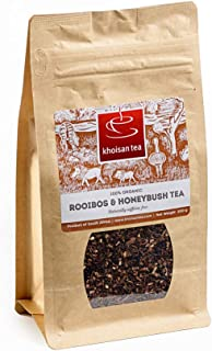 Khoisan Tea 100% Organic Rooibos Honeybush Blend Loose Tea 200g