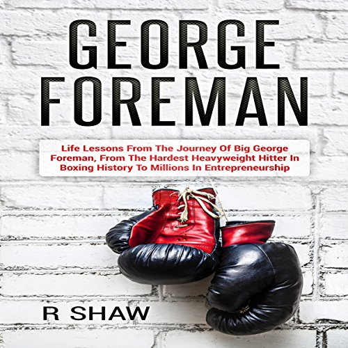 George Foreman audiobook cover art