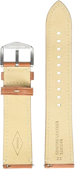 S221246 Silver Light Brown Leather