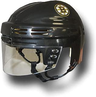 SportStar NHL Boston Bruins Replica Mini Hockey Helmet, Away