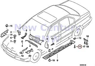 BMW Genuine Terminal Socket Mqs Ela 0.2-0.5 MM Sn 840Ci 840i 850Ci 525i 530i 540i 318i 318is 318ti 320i 323i 325i 325is 328i M3 M3 3.2 740i 740iL 740iLP 750iL 750iLP 525i 528i 530i 540i 540iP M5 320i