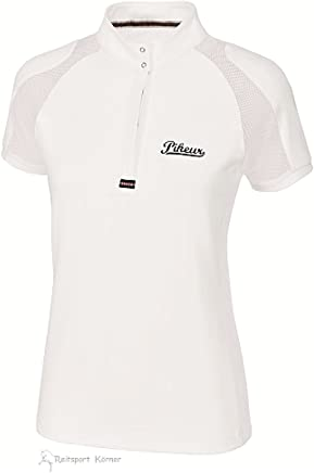 Pikeur  ladies competition shirt with 1 2 sleeves and Meshinset